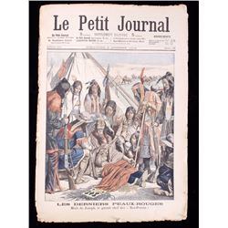Le Petit Journal Death of Chief Joseph circa 1904