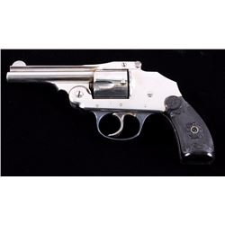 Iver Johnson Safety Hammerless 38 S&W Revolver