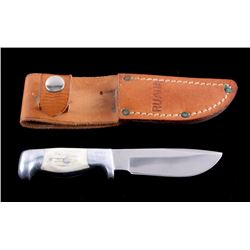 "Ruana ""Smokejumper"" Skinner Knife and Scabbard"