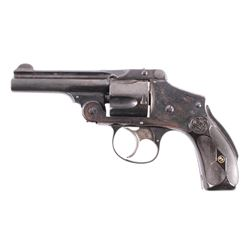 Smith & Wesson Safety Hammerless 38 Revolver