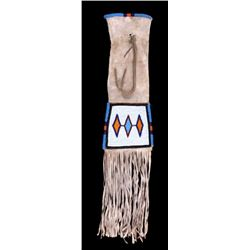 Northern Plains Indian Beaded Pipe Bag Mid-20th