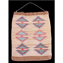 Early 1900's Nez Perce Corn Husk Bag