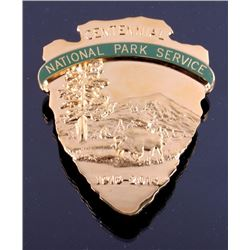 2016 National Park Service 100th Anniversary Badge