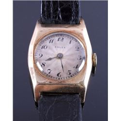 Rolex 9K Gold Presentation Watch circa 1937