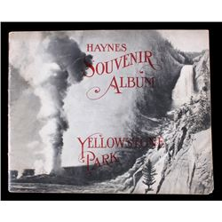 1909 Haynes Souvenir Album of Yellowstone Park