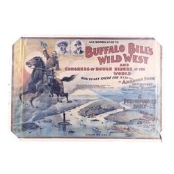 Buffalo Bill's Wild West Show Poster Ambrose Park