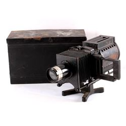 Keystone Magic Lantern Glass Slide Projector