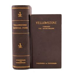 Yellowstone National Park Stereoviews & Book