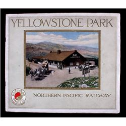 1913 Northern Pacific Yellowstone Park Line Book