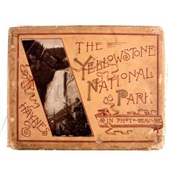 1887 Haynes Yellowstone Photogravure Album