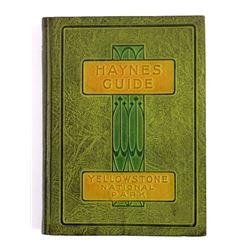 1924 Haynes Guide Yellowstone National Park