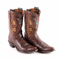 1950's Acme Mens Inlaid Cowboy Boots