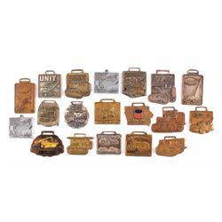 Heavy Equipment Dealer Watch Fob Collection