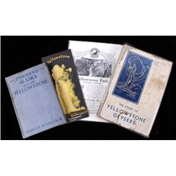 Yellowstone Pamphlets & Books Collections