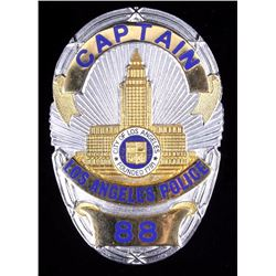 Los Angeles Police Captains LAPD Badge Dragnet