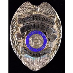North Bay Village Commissioner N.Y. Police Badge