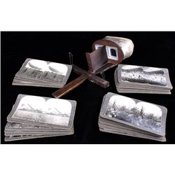 Monarch Stereograph With WWI Stereoviewers