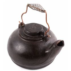 Cast Iron Wagner Swivel Lid Tea Kettle