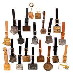 Heavy Equipment Pocket Watch Fob Collection