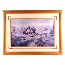 Charles Russell Framed Western Print