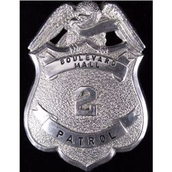 Boulevard Mall Patrol Law Enforcement Badge