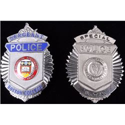 Boston, Massachusetts Law Enforcement Badges