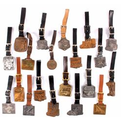 Heavy Equipment Dealer Pocket Watch Fob Collection