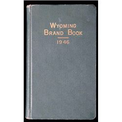 Wyoming Brand Book 1946