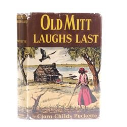 Old Mitt Laughs Last by Puckette 1st Ed circa 1944