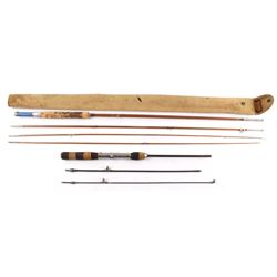 Sunbeam Montague Bamboo 4pc. & 3pc. Metal Fly Rod