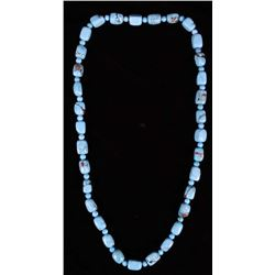 Navajo Blue Gem Turquoise Nugget Necklace