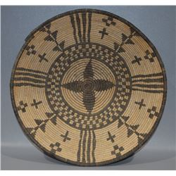 YAVAPAI APACHE BASKETRY BOWL