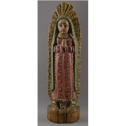 MEXICAN CARVED SANTOS CARVING