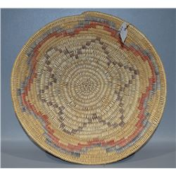 JICARILLA APACHE BASKETRY BOWL BY ALICE BALTAZAR