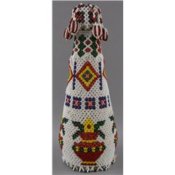 BEADED BOTTLE COVER