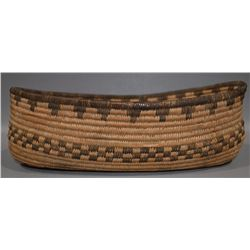 APACHE BASKETRY OVAL BOWL