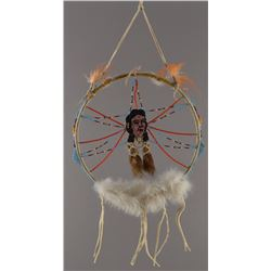PLAINS BEADED DREAM-CATCHER