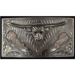 MEXICAN SILVER BUCKLE
