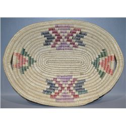 JICARILLA APACHE BASKETRY TRAY