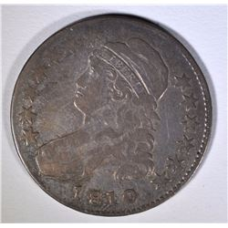 1810 CAPPED BUST HALF DOLLAR, FINE