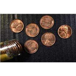 BU ROLL OF 1950 LINCOLN CENT