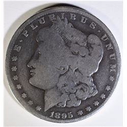 1895-O MORGAN SILVER DOLLAR, GOOD  KEY DATE
