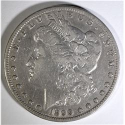 1899 MORGAN SILVER DOLLAR FINE  SEMI-KEY