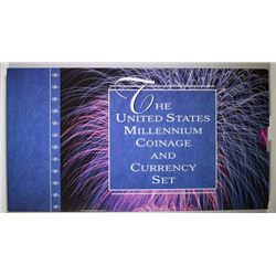 THE UNITED STATES MILLENNIUM COINAGE AND CURRENCY SET - MINT ISSUED