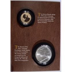 2015 JOHN F. KENNEDY COIN AND CHRONICLES SET