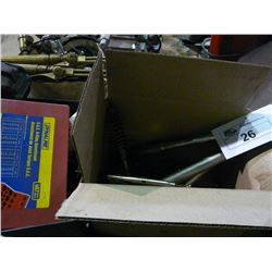 TWO BOXES OF MISC TOOLS