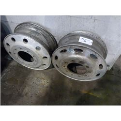 TWO TRUCK RIMS