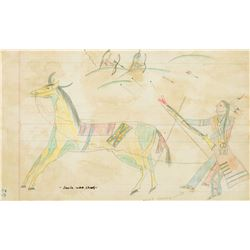 Ledger Drawings - Sold As Set