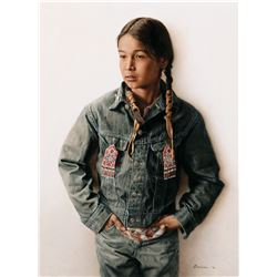 A Twelve Year Old Sioux Indian