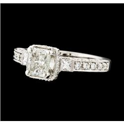 1.74 ctw Diamond Ring - 18KT White Gold